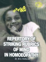 Repertory Of Striking Rubrics Of Mind In Homoeopathy