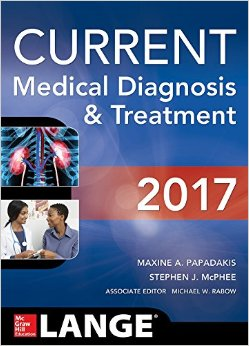 Current Medical Diagnosis And Treatment – 2017