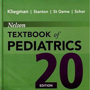 Nelson Textbook Of Pediatrics 2-Volume Set 2016