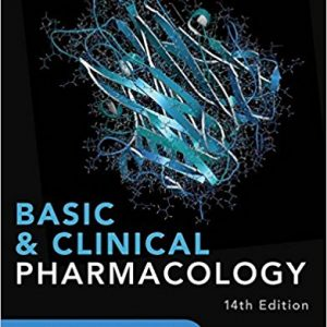 Basic And Clinical Pharmacology – Katzung- 2018  – کاتزونگ