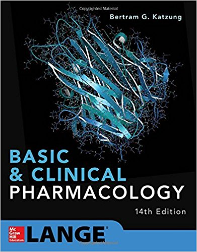 Basic & Clinical Pharmacology 2018-Katzung