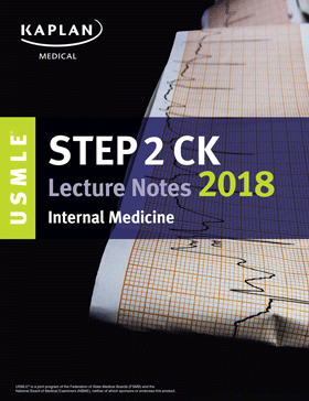 (رنگی) USMLE Step 2 CK Lecture Notes 2018: Internal Medicine