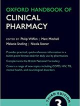 Oxford Handbook Of Clinical Pharmacy – 2017