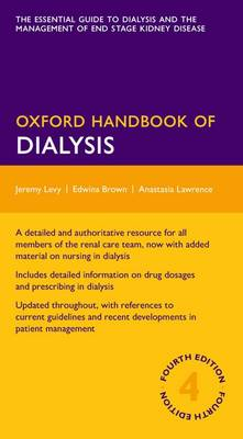 Oxford Handbook Of Dialysis- 4th Edition