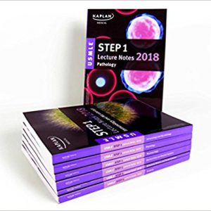 USMLE Step 1 Lecture Notes 2018: 7-Book Set ( تمام رنگی )