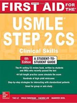 First Aid For The USMLE Step 2 Clinical Skills – 2017