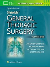 Shields' General Thoracic Surgery – 2019