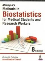 Mahajans Methods In Biostatistics For Medical Students And Research Workers