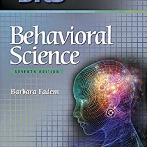 BRS Behavioral Science -Board Review Series