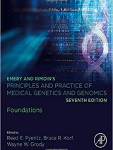 Emery And Rimoin's Principles And Practice Of Medical Genetics And Genomics 2018