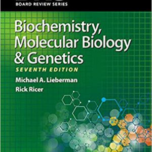 ۲۰۲۰ BRS Biochemistry, Molecular Biology & Genetics -Board Review Series