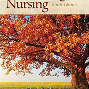 Gerontological Nursing – 2019