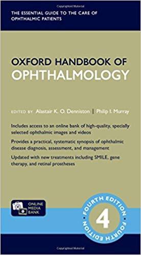 oxford-handbook-ophthalmology-2018-اشراقیه-افست
