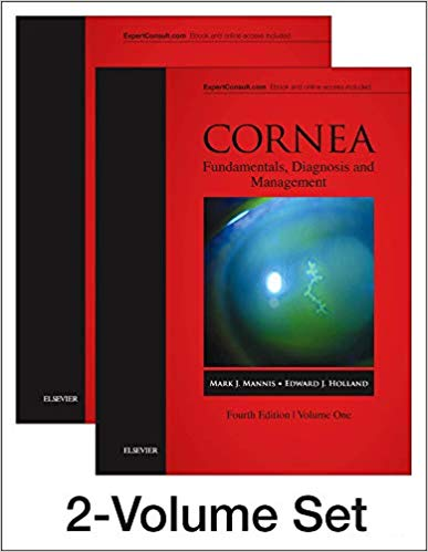 Cornea, 2-Volume Set 4th Edition