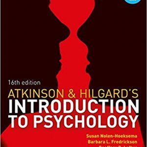 Atkinson & Hilgard S Introduction To Psychology – 2015
