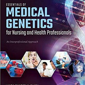 Essentials Of Medical Genetics For Nursing And Health Professionals 2020