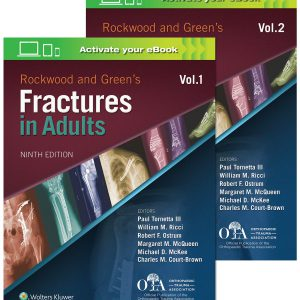 Rockwood And Green's Fractures In Adults | کتاب ارتوپدی و شکستگی راکوود بزرگسالان