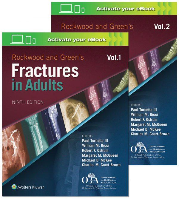 خرید کتاب ارتوپدی و شکستگی بزرگسالان راکوود 2019 - rockwood fracture adult 9th