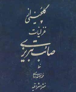 گلچینی از غزلیات صائب تبریزی