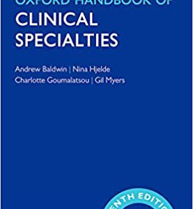 Oxford Handbook Of Clinical Specialist – 2016