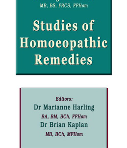 Studies Of Homoeopathic Remedies / هومیوپاتی