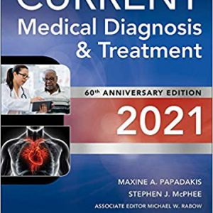 Current Medical Diagnosis And Treatment 60th Edition | 2021