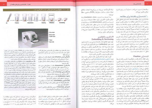 نمونه کتاب بافت شناسی جان کوئیرا 2018 حسن زاده - Junquira histology