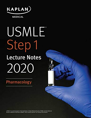 (رنگی) USMLE Step 1 Lecture Notes 2020: Pharmacology
