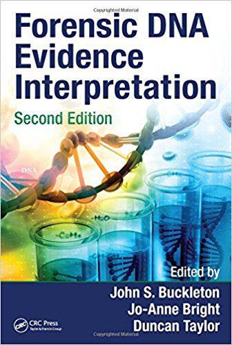 Forensic Dna Evidence Interpretation Second edition Buckleton اشراقیه افست