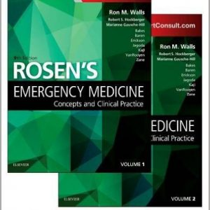 Rosen's Emergency Medicine 2018 – 3 Vol Set