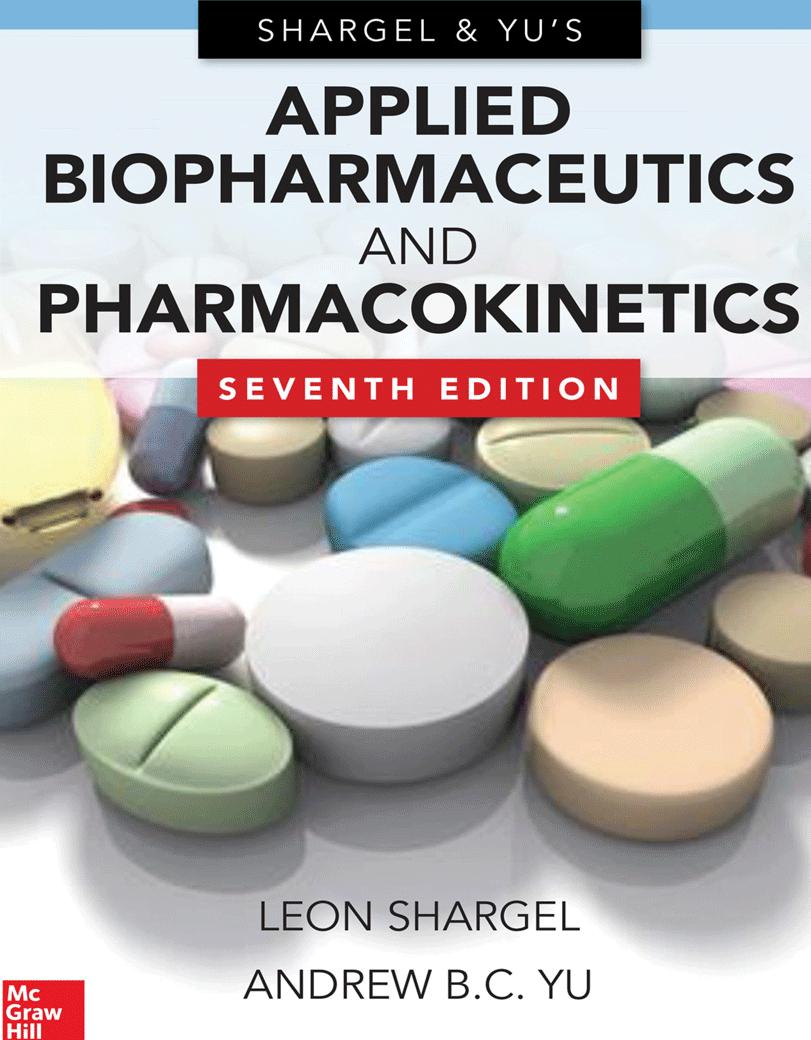 Applied Biopharmaceutics & Pharmacokinetics - بیوشیمیایی کاربردی و فارماکوکینتیک شارگل