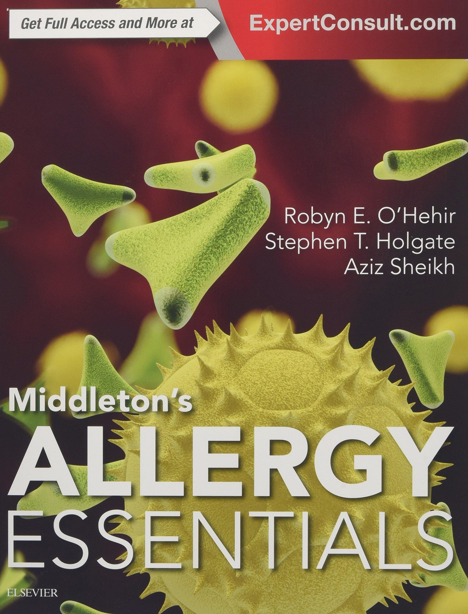 Middletons Allergy Essentials O'hehir Holgate Sheikh افست اشراقیه
