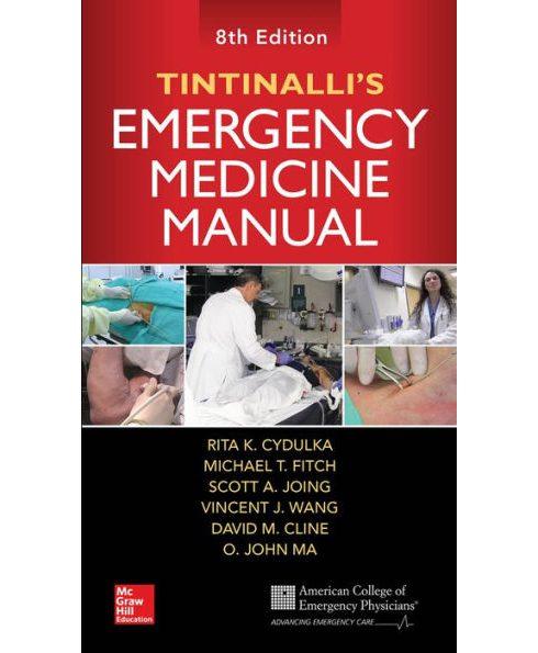 کتاب دستنامه طب اورژانس تینتینالی - Tintinali emergency medicine 2018