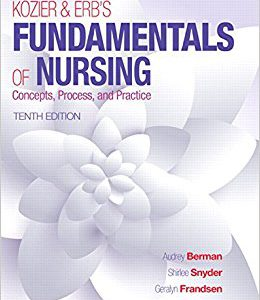 -۲۰۱۶ Kozier & Erb's Fundamentals Of Nursing -10th Edition
