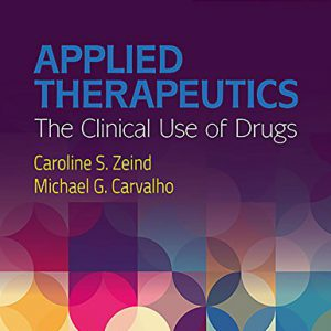 Applied Therapeutics: The Clinical Use Of Drugs 2018