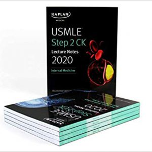 USMLE Step 2 : Kaplan CK Lecture Notes – 2020 – دوره کامل کاپلان