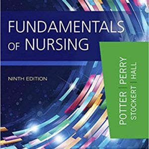 Fundamentals Of Nursing – Potter & Perry – 2016