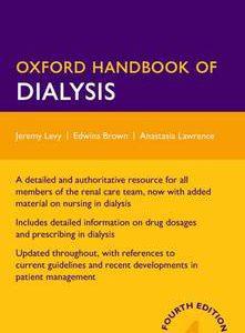 Oxford Handbook Of Dialysis- 4th Edition