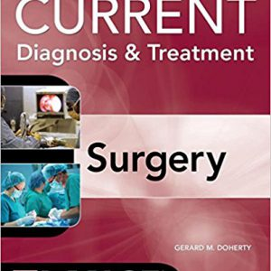 Current Diagnosis And Treatment Surgery – 2015