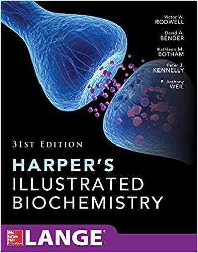 کتاب بیوشیمی هارپر 2018 Harper's Illustrated Biochemistry - 2018