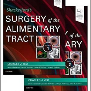 Shackelford's Surgery Of The Alimentary Tract, 3 Volume Set – 2018