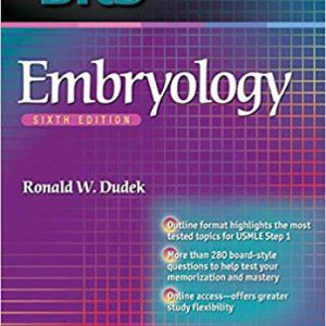 BRS Embryology -Board Review Series