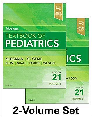 Nelson Textbook of Pediatrics - 4 vol set 2020 - کودکان نلسون