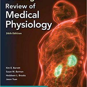 Ganong's Review Of Medical Physiology 2019 گانونگ
