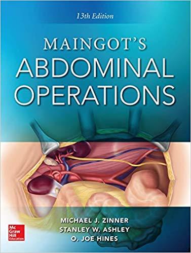 کتاب جراحی مینگات چاپ اصلی تمام رنگی | ویرایش جدید Maingot