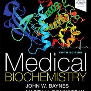 Medical Biochemistry – 5th Edition 2018