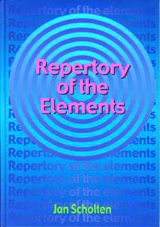 Repertory Of The Elements – Jan Scholten (چاپ هلند)