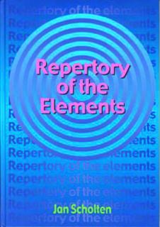 Repertory Of The Elements – Jan Scholten