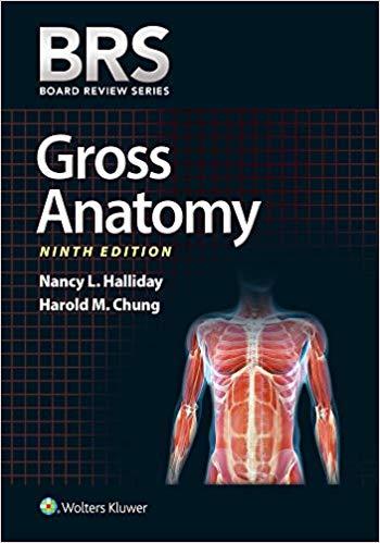BRS gross anatomy 2019