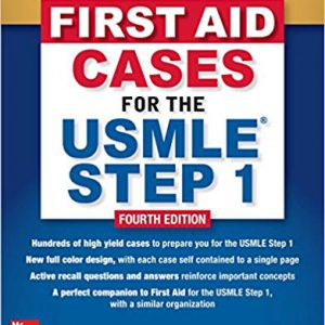 First Aid Cases For The USMLE Step 1 – 2019